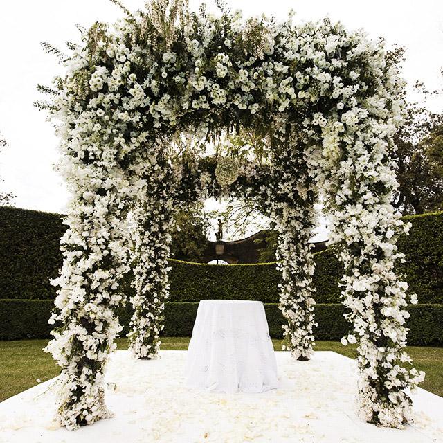 classic wedding tearose