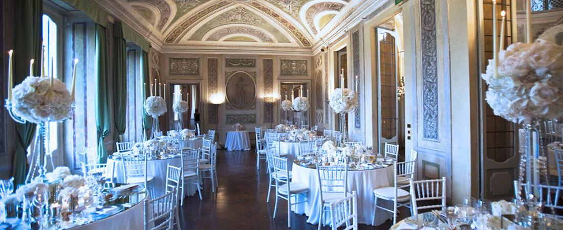 Classic Elegance Wedding Wedding Great Beauty Villa