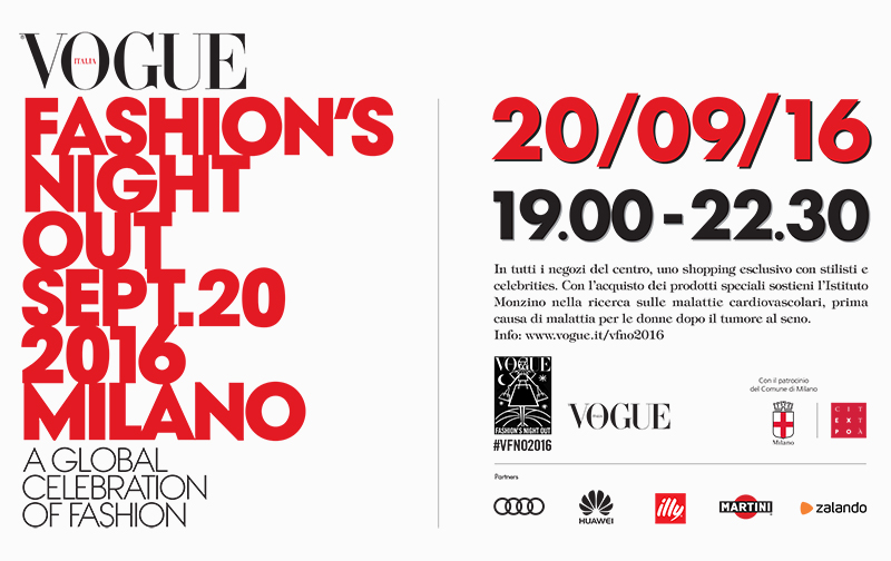 VFNO Vogue Fashion Night Milan 2016