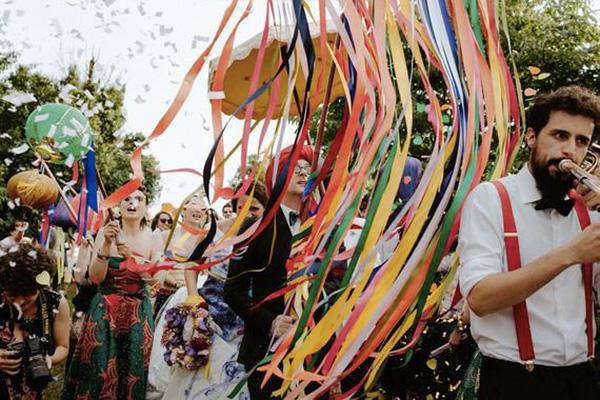 Foto Matrimonio Bohemien : Un matrimonio bohémien tearose