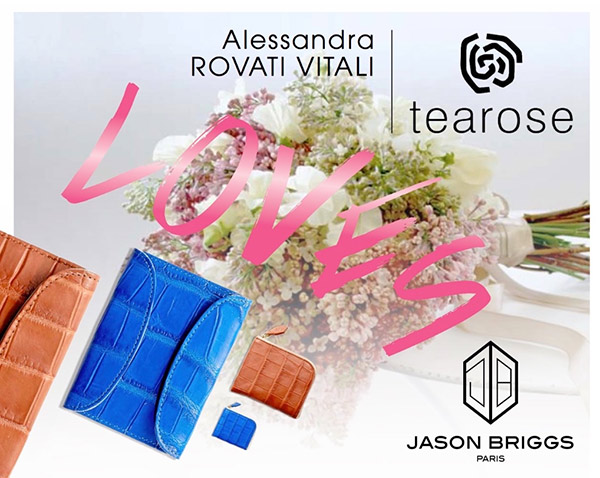 Tearose loves Jason Briggs Tearose Boutique Milan