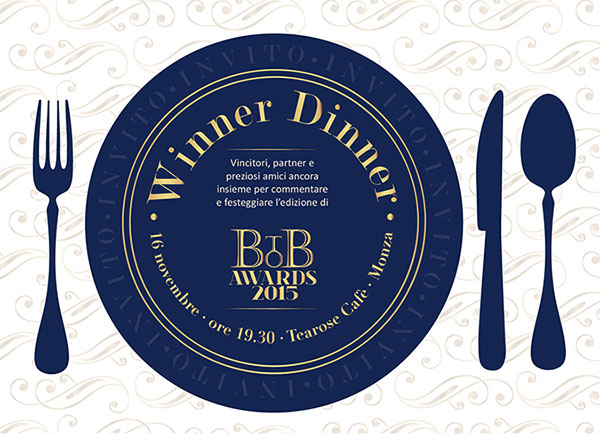 Winner Dinner BtoB Awards 2015